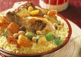 poulet cuisine couscous de poulet aux légumes frais maggi