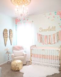 Pink And Gold Nursery Bedding Room For Baby 24 Lofty Walk On The Wild Side With Pink
