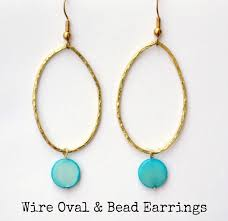 vire earrings oval wire earrings a knockoff tutorial