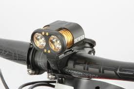 best helmet mounted light led lights review mountain biking australia magazine