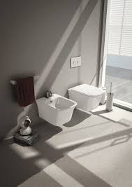 wall hung sanitary fixtures for small space conscious bathroom designs