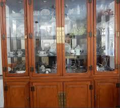 solid oak china cabinet big solid oak china cabinets golden age vintage