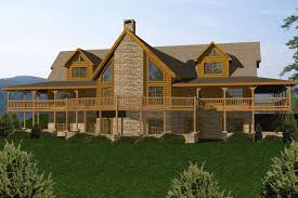 ranch style log home floor plans log cabin home floor plans battle creek homes tn nc ky and designs
