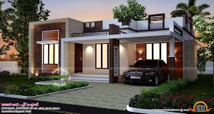 flat roofed small house house design and planning