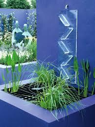 Garden Wall Paint Ideas Beautiful White Glass Wood Simple Design Modern Tropical Houses