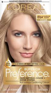 l u0027oreal paris superior preference fade defying color shine hair