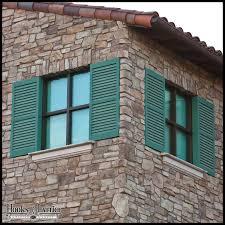 decorative exterior shutters aluminum iron vinyl shutters
