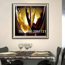 Wine Glass Wall Decor Online Buy Wholesale Wine Canvas Art From China Wine Canvas Art
