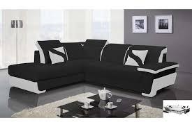 canap d angle et noir canapé d angle convertible noir et blanc intérieur déco