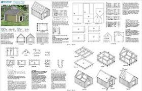gable roof house plans large house plans gable roof style doghouse 90304g pet size