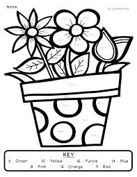 spring coloring sheets spring coloring sheets for first grade printable to sweet page draw