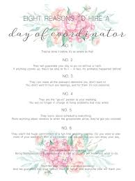wedding planning career day of wedding coordinator 2942