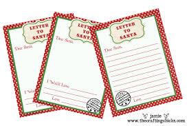 to santa free printable download