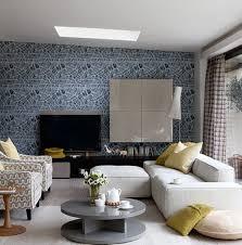 Best Wallpaper Inspiration Images On Pinterest Room - Living room wallpaper design