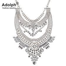 vintage crystal statement necklace images Buy adolph brand punk vintage crystal big jpg