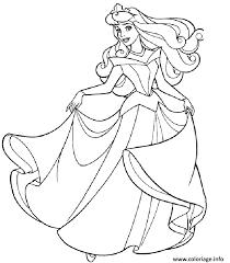 Coloriage Aurore Princesse 19 dessin