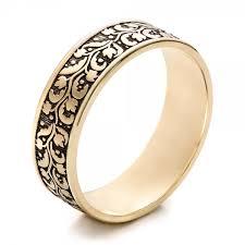 engraving on wedding bands men s engraved wedding band 101050