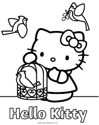 86 best coloring hello kitty images on pinterest hello kitty