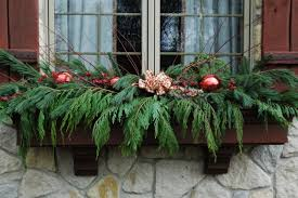 Christmas Decorating Ideas Outdoor Planters Pictures Outdoor Window Decor Zamp Co