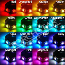 led light strip waterproof rgb led super value kit rgb led strip lights inline rgb