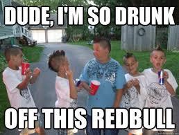 Drunk Kid Meme - dude i m so drunk off this redbull cool little kids quickmeme