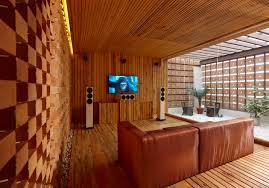 Home Theatre Interior Design Gallery Of Home Theatre Studio Interior Sfurna Designs 10