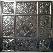 114 tin metal ceiling tile mediterranean pebble