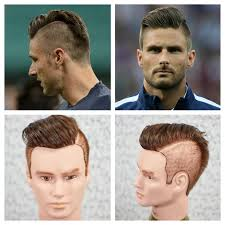 soccer haircut steps olivier giroud haircut hairstyle tutorial 2014 youtube