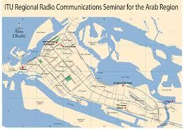 map of abu dabi radiocommunication sector itu r united arab emirates abu