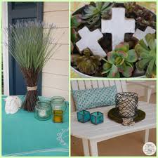 decorating an outdoor space for easter a giveaway sometimes when