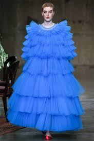 rihanna in molly goddard blue tulle dress haus of rihanna
