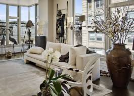 modern white nuance of the contemporary eclectic interiors can be