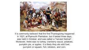 the first thanksgiving at plymouth chapter 17 the diversity of american colonial societies ppt