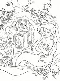 130 Best Ariel Images On Pinterest Coloring Books Vintage Disney Princess Ariel Coloring Pages