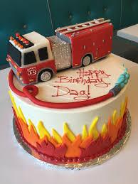 firetruck cakes custom birthday cakes