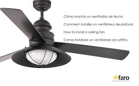 cómo instalar un ventilador techo install a ceiling