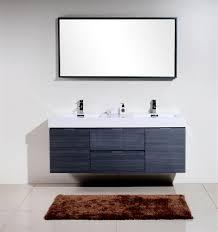 modern sinks and vanities noted modern bathroom sink vanity 60 gray oak mount double