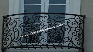 elegant serenity custom decorative aluminum exterior balcony railings