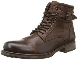 womens boots uk jones jones jjalbany leather boot brown herren halbschaft