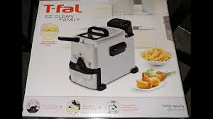 T Fal Toaster T Fal Ez Clean Compact Deep Fryer 2 0l Unboxing Youtube