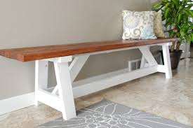 Diy Bench Sander Diy Project Farmhouse Bench The Home Depot