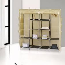 kinbor 65 u0027 u0027 portable closet storage organizer wardrobe clothes