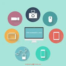 bureau gratuit gratuits icônes de bureau plat télécharger des vecteurs gratuitement