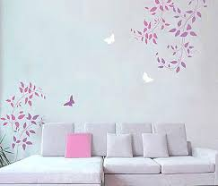 Bedroom Stencils Designs Wall Painting Stencils Stencil Designs For Easy Wall Decor