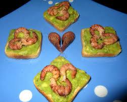 canap avocat crevette recette canapés de crevettes grises et avocat