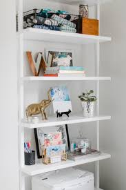 Shallow White Bookcase by Best 25 Small White Bookcase Ideas On Pinterest Small Living