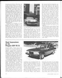 the peugeot family road impressions of the peugeot 604 v6 sl motor sport magazine