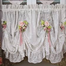 Shabby Chic White Curtains Gray Dreams Shabby And Shabby Chic Curtains