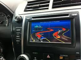 Toyota Map Update Usa by Navigation System For Toyota Camry With Apps Radio Cybcar