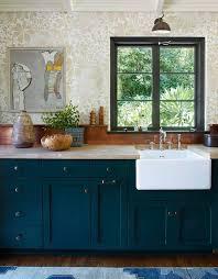 Turquoise Cabinets Kitchen Big Bang Theory U0027 Star Jim Parsons U0027s 1920s Spanish Revival Home
